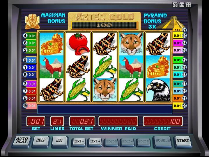 Автомат aztec gold