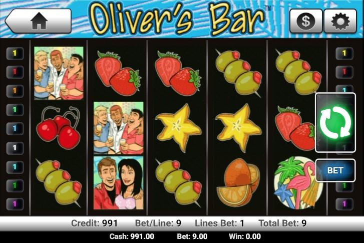 Ігровий автомат oliver bar