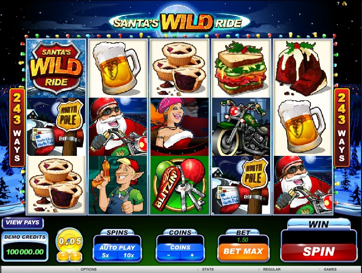 Ставок онлайн игровой автомат santas wild ride играть онлайн фрахта