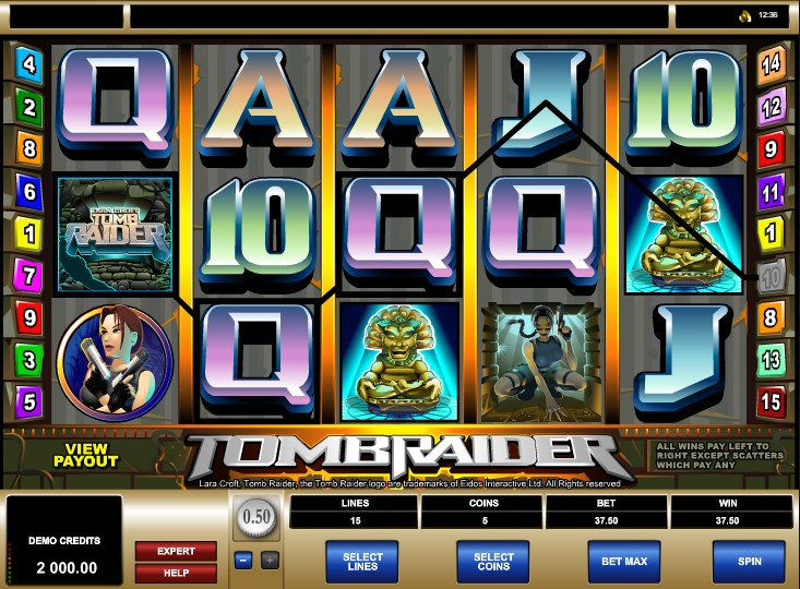 Предлагаем поиграть в игровой автомат Tomb Raider без регистрации и смс.Большая коллекция игровых автоматов Лара Крофт и другие бесплатные онлайн слоты у нас на портале.Качественные игровые слоты Tomb Raider только здесь!4/5(29).Долгопрудный